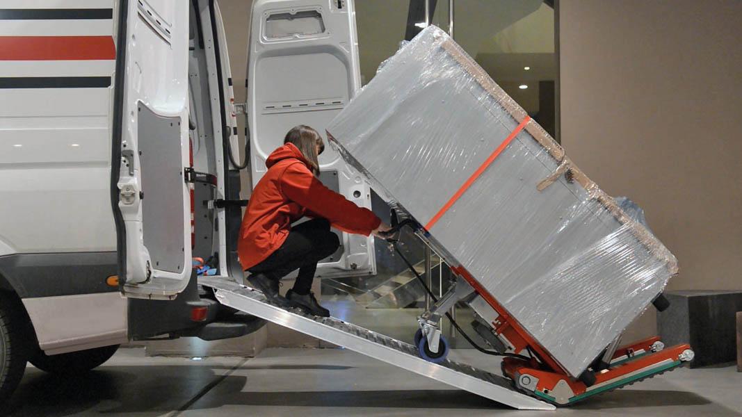 Oruga Sube Escaleras Zonzini Domino Capacidad 400 Kg