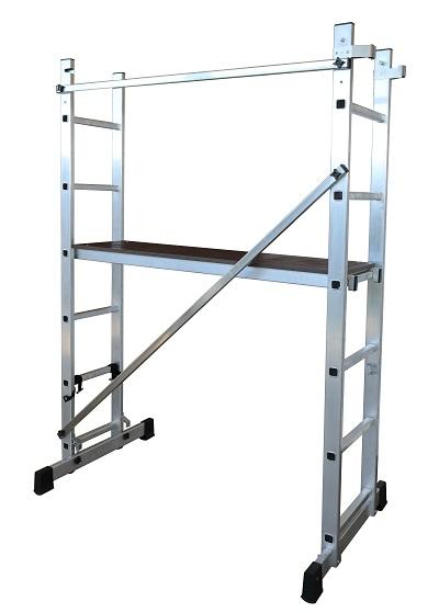 Andamio escalera aluminio 6 pelda os modelo 3506 - Escalera andamio aluminio ...